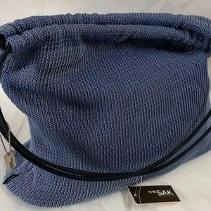 The Sak Purse Shoulder Bag Periwinkle Blue